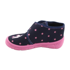 Befado children's shoes 538P015 navy pink multicolored 2