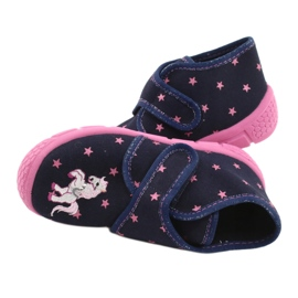Befado children's shoes 538P015 navy pink multicolored 5