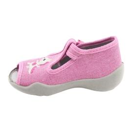 Befado children's shoes 213P122 pink 2
