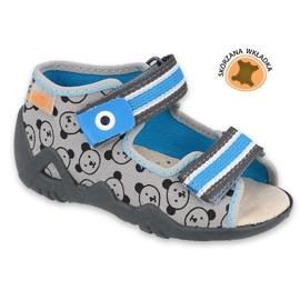 Befado yellow children's shoes 350P017 black blue grey 1