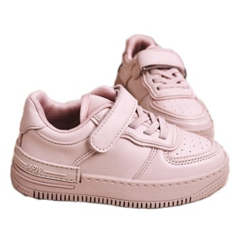 Apawwa Children's Sport Shoes With Velcro Pink Airy 3
