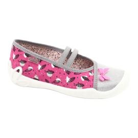 Befado children's shoes 116Y288 pink grey multicolored 1