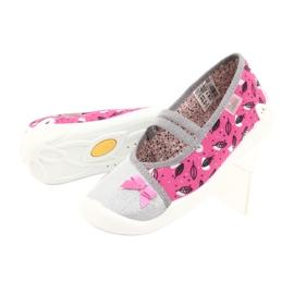 Befado children's shoes 116Y288 pink grey multicolored 4
