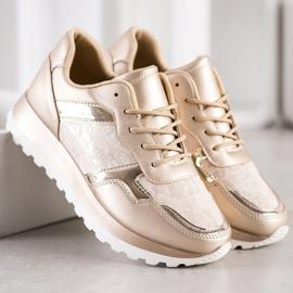 Bestelle Stylish sneakers beige 4