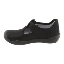 Befado children's shoes blanka black 115X006 silver 4