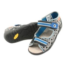 Befado yellow children's shoes 350P017 black blue grey 4