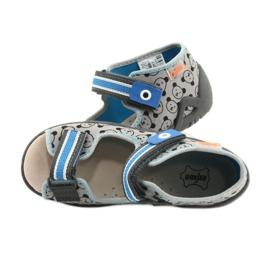 Befado yellow children's shoes 350P017 black blue grey 5