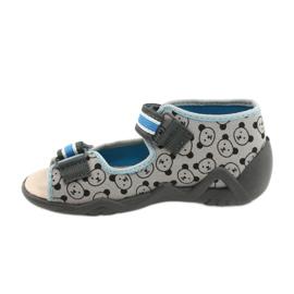 Befado yellow children's shoes 350P017 black blue grey 2