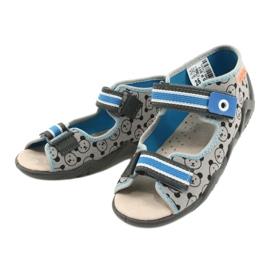 Befado yellow children's shoes 350P017 black blue grey 3