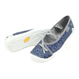 Befado children's shoes 116Y275 navy grey 4