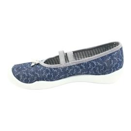 Befado children's shoes 116Y275 navy grey 2