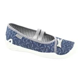 Befado children's shoes 116Y275 navy grey 1