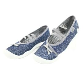 Befado children's shoes 116Y275 navy grey 3