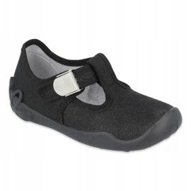 Befado children's shoes blanka black 115X006 1