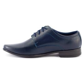 Lukas Children's formal communion shoes J1 navy blue 3