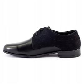 Lukas Children's formal communion shoes J1 black 1