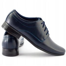 Lukas Children's formal communion shoes J1 navy blue 1