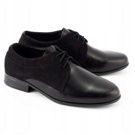 Lukas Children's formal communion shoes J1 black 2