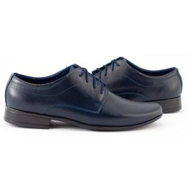 Lukas Children's formal communion shoes J1 navy blue 2