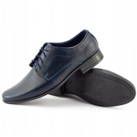 Lukas Children's formal communion shoes J1 navy blue 5