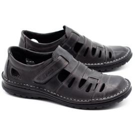 Joker Men's openwork shoes 501 gray grey 2