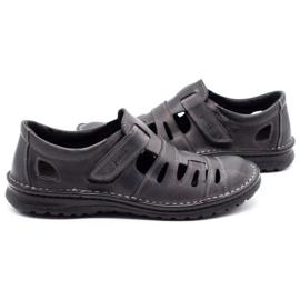Joker Men's openwork shoes 501 gray grey 5