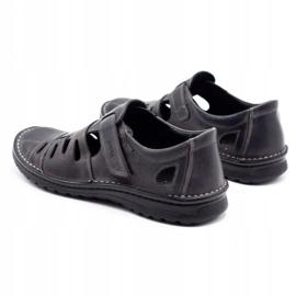 Joker Men's openwork shoes 501 gray grey 7