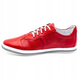Polbut Casual men's shoes 1801L red 1