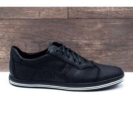Polbut 1801P black casual men's shoes 2
