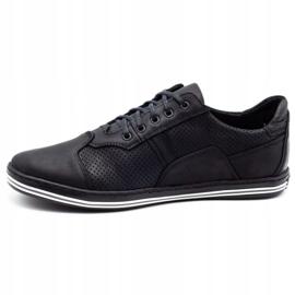 Polbut 1801P black casual men's shoes 3