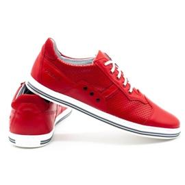 Polbut Casual men's shoes 1801L red 4