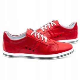 Polbut Casual men's shoes 1801L red 5
