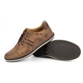 Polbut Casual men's shoes 1801P brown 4