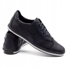 Polbut 1801P black casual men's shoes 5