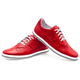 Polbut Casual men's shoes 1801L red 6