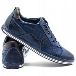 Polbut Men's casual shoes 1801P navy blue 4