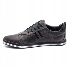 Polbut Men's casual shoes 1801P gray grey 7