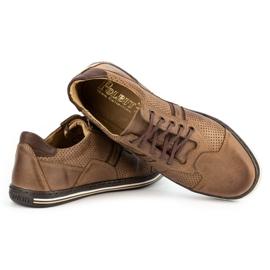 Polbut Casual men's shoes 1801P brown 5