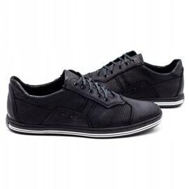 Polbut 1801P black casual men's shoes 6