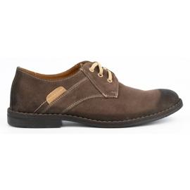 KENT Men's casual shoes 272 brown 1