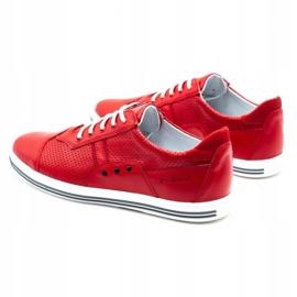 Polbut Casual men's shoes 1801L red 7