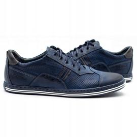 Polbut Men's casual shoes 1801P navy blue 5