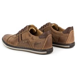 Polbut Casual men's shoes 1801P brown 6