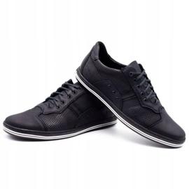 Polbut 1801P black casual men's shoes 7
