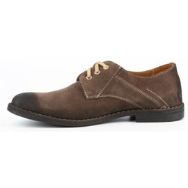 KENT Men's casual shoes 272 brown 2