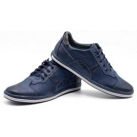 Polbut Men's casual shoes 1801P navy blue 6