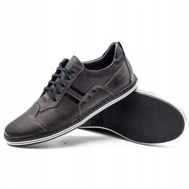 Polbut Men's casual shoes 1801P gray grey 2