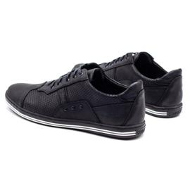 Polbut 1801P black casual men's shoes 8