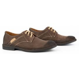 KENT Men's casual shoes 272 brown 3