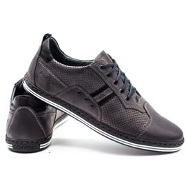 Polbut Men's casual shoes 1801P gray grey 3